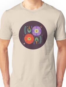 Flowerfully Folk Unisex T-Shirt
