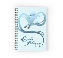 Expecto Patronum! (Hare) Spiral Notebook