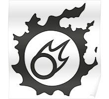 Final Fantasy 14 logo BLM Poster