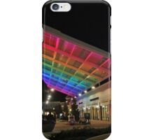 Rainbow at the Mall iPhone Case/Skin