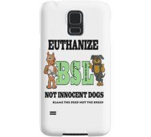EUTHANIZE B.S.L NOT INNOCENT DOGS Samsung Galaxy Case/Skin