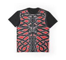 Shoulders and Spine Celtic Design Graphic T-Shirt