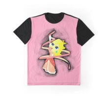 Ribbon Twirl Graphic T-Shirt