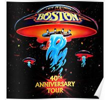 BOSTON 40TH ANNIVERSARY TOUR Poster