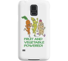 FRUIT AND VEGETABLE POWERED ATHLETE Samsung Galaxy Case/Skin