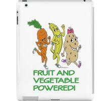 FRUIT AND VEGETABLE POWERED ATHLETE iPad Case/Skin