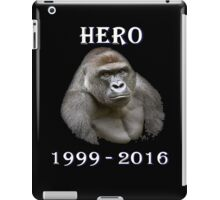 hero animal  iPad Case/Skin