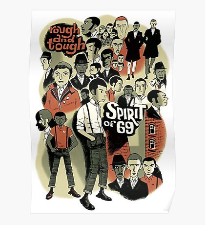 Skinhead : Spirit Of 69 Poster