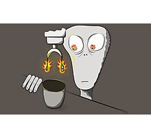 Freaky Coffee Photographic Print