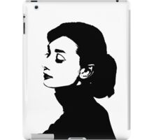 Audrey Hepburn Has A Profile iPad Case/Skin