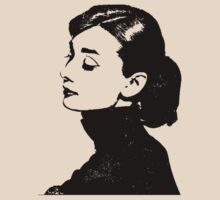 Audrey Hepburn Has A Profile by Museenglish