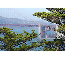 Golden Gate from Point Lobos Photographic Print