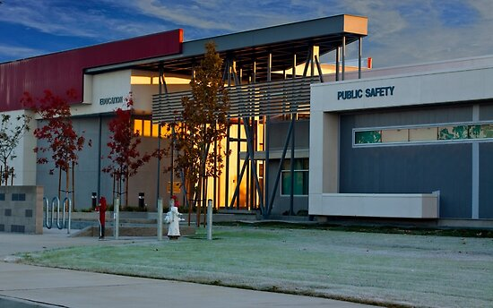 Education & Public Safety - a Higher Learning Facility by Buckwhite
