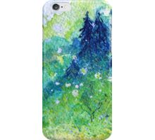 Tree Series - The Pine Trees by Heather Holland iPhone Case/Skin