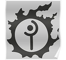 Final Fantasy 14 logo WHM Poster