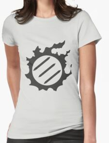 Final Fantasy 14 logo MNK Womens Fitted T-Shirt