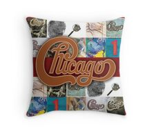 CHICAGO BAND A Throw Pillow