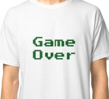 Game Over Retro Game T-Shirt Classic T-Shirt
