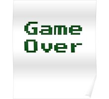 Game Over Retro Game T-Shirt Poster