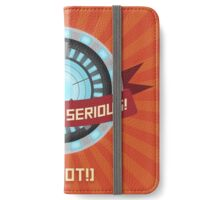 avac - let's get serious! iPhone Wallet/Case/Skin