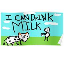 Milk Drinker Poster