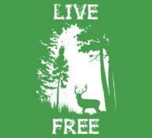 Live Free One Piece - Short Sleeve