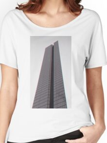 Photograph of the John Hancock Building Women's Relaxed Fit T-Shirt