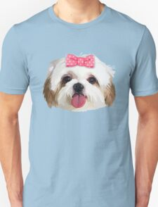 Shitzhu Dog 3 Unisex T-Shirt