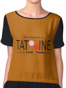 Visit Tatooine Chiffon Top