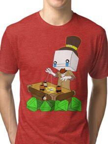 Why Hatty (battleblock theater) Tri-blend T-Shirt