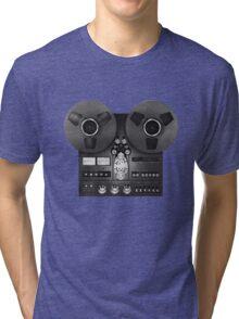 Reel-to-reel audio recorder Tri-blend T-Shirt