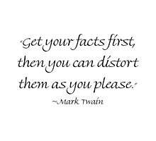 Get Your Facts First by Amantine