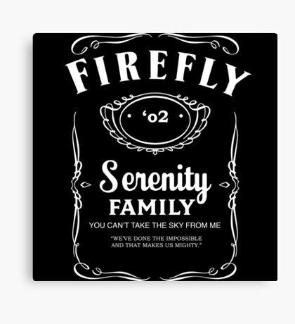 Firefly Whiskey Canvas Print