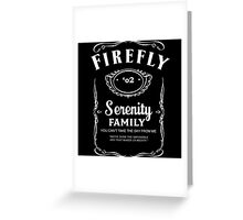 Firefly Whiskey Greeting Card