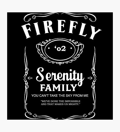 Firefly Whiskey Photographic Print