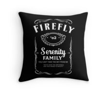 Firefly Whiskey Throw Pillow