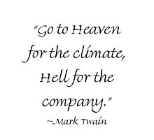 Heaven For The Climate & Hell For The Company by Amantine