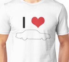 I love 240 Sedan Unisex T-Shirt