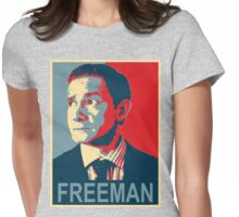 Freeobama Womens Fitted T-Shirt