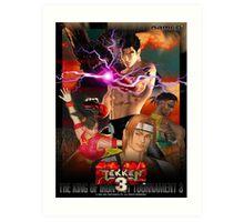 The King of Iron Fist Tournament 3 / Tekken 3 Art Print