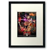 The King of Iron Fist Tournament 3 / Tekken 3 Framed Print