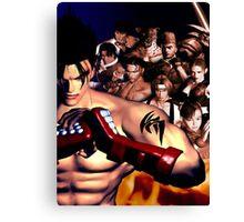 Tekken 3 Cast Canvas Print
