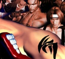 Tekken 3 Cast Sticker