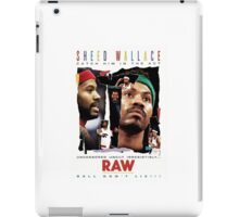 Rasheed Wallace - RAW iPad Case/Skin