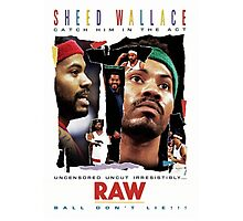 Rasheed Wallace - RAW Photographic Print