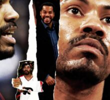 Rasheed Wallace - RAW Sticker