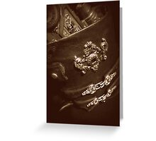Steampunk Holster 1.1 Greeting Card