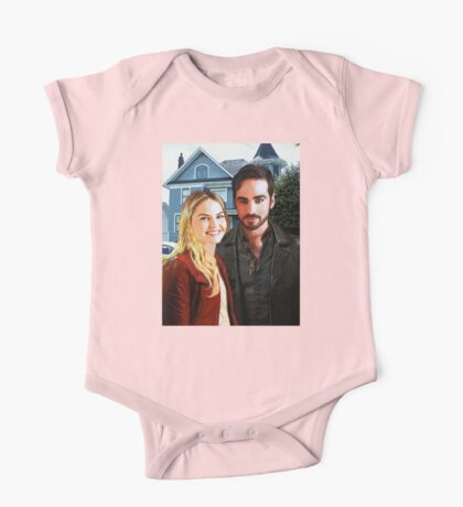 "Captain Swan ""At Home in Storybrooke"" One Piece - Short Sleeve"