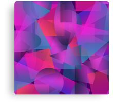 Abstract cube Canvas Print