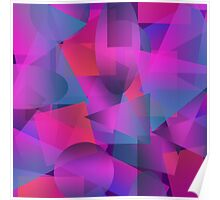 Abstract cube Poster